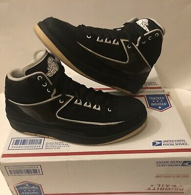 los angeles 2a8e0 77be4 Nike Air Jordan 2 Qf Retro Black  White Black Suede 395709-001 Beaters