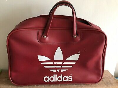 800706658a50 Vintage Retro Peter Black Keighley Red adidas Holdall Bag Northern Soul