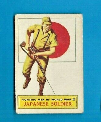 1965 A&bc (Not Topps) Battle Cards British  #71 Japanese Soldier Vg