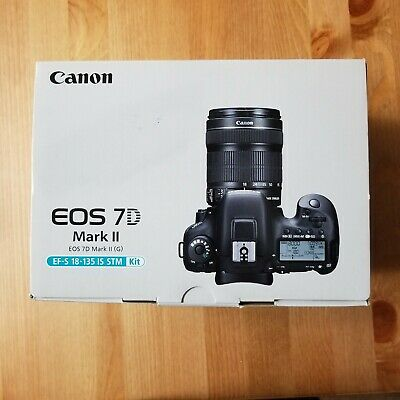 Canon eos 7d mark ii   Empty box