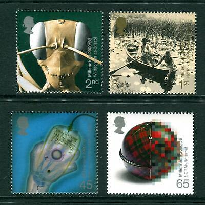 2000 GB Millennium. Mind and Matter UM. Ant, Lilies, X-ray. SG 2162-2165