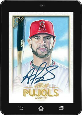 Topps BUNT Albert Pujols Base Signature GALLERY 2019 Drop 2 [DIGITAL CARD]