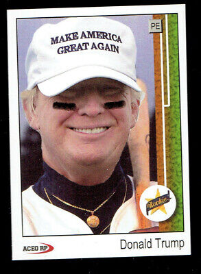 1989 Donald Trump Make America Great Again Upper Deck Style ACEO Custom RARE 2