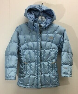 8cafd47e5 NEW THE NORTH Face Girls Luna 550 down Insulated jacket Grey Pink ...