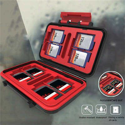 Support Shatter-proof Waterproof Memory Card Case Storage Various Cards Various