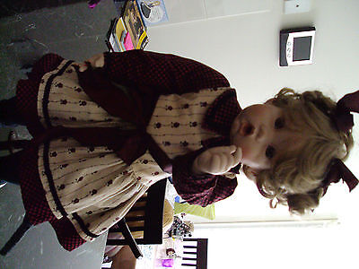 Porcelain Doll, Chrissie, By Cindy Rolfe, Very Rare