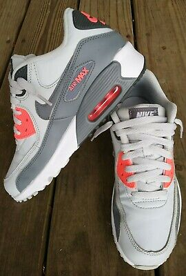 brand new 0e9a1 c50f8 Nike Air Max 90 Premium Running Shoes, Multicolor, Youth Size 6Y, WMNS Size