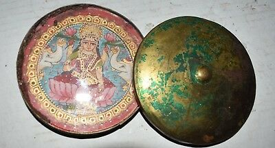 orig $299-NEPAL/TIBET SHAMAN TRAVELING ALTAR EARLY 1900S 5""