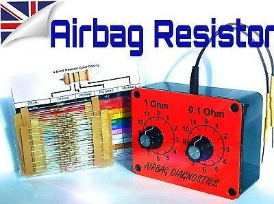 Garage Equipment & Tools AIRBAG RESISTOR KIT FREE RESISTORS TURN OFF