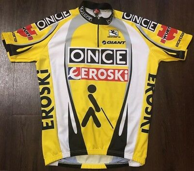 8c11c6ca1 Giordana Giant ONCE EROSKI cycling jersey Tour De France adults Extra LARGE