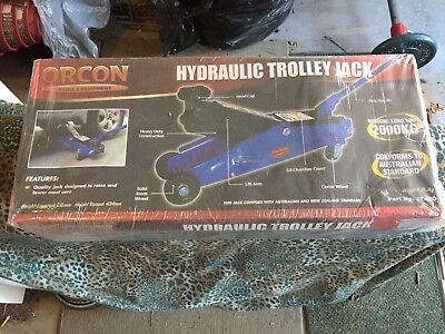 Orcon hydraulic trolley jack