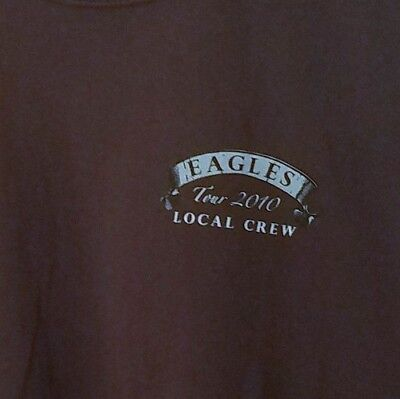 Eagles 2010 Local Crew Brown Shirt XL