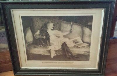 Antique Pears Soap Framed Lithograph - There is more than one style of beauty