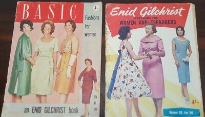 Enid Gilchrist - Basic Fashions for Women & Patterns for Women and Teenagers