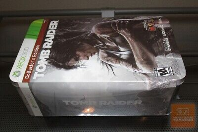Tomb Raider Collector's Edition (Xbox 360 2013) FACTORY SEALED! - RARE!