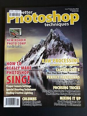 Better Photoshop Techniques. Issue Twenty One. Issue 21. 2010.
