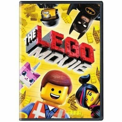 The Lego Movie DVD Widescreen NEW (AMAZING DVD IN ORIGINAL SHRINK WRAP!! DISC AN