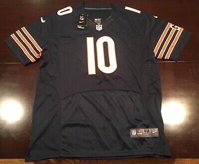 NEW NIKE YOUTH Chicago Bears Football Jersey XL #10 Trubisky NWT  hot sale