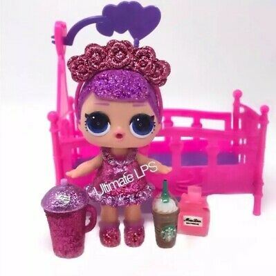 MOSTLY SEALED LOL DOLL Bling Seres SUGAR QUEEN NEW AUTHENTIC! RARE