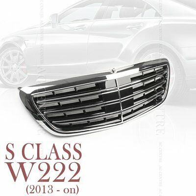 Newest Style For Mercedes-Benz S-Class W222 14-16 Grille Mesh Vent Hole Trims