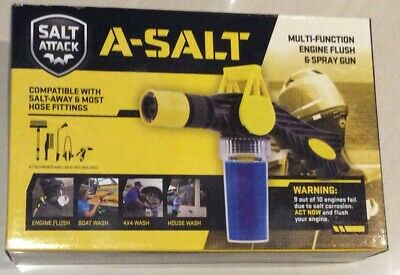 Salt Attack A-Away Multifunction Engine Flush & Spray Gun Part No.SAM