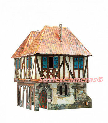 BUILDING BURGHER'S HOUSE Medieval Town Terrain Scenery 3D