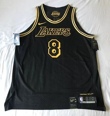 5286a394d 100% Authentic Kobe Bryant Nike Lakers City Edition Lore Series Jersey Size  2XL