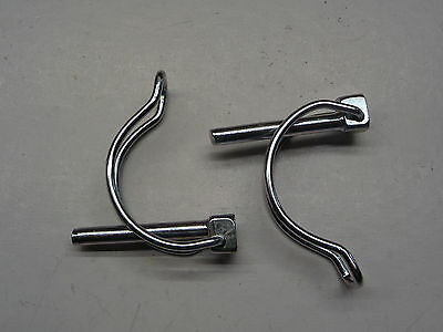 GOUPILLE CLIP TUBE 6X40 ZINGUE lot de 2 pièces clips 6mm lynch broches
