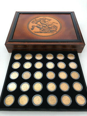 Gold Sovereign Coin Collection  Complete 1899 - 1931 Perth Mint 33 In Total