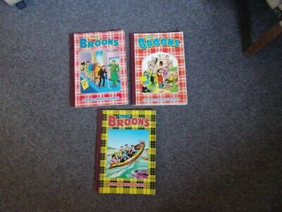 3 Broons Annuals 1981, 83 and 85 DC Thomson