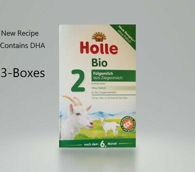 3-Boxes Holle Organic Goat Milk Formula Stage-2 400g FREE SHIPPING