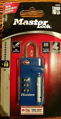 Master Lock 4693D Set Your Own Combination TSA - Accepted Luggage Lock