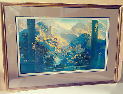 Maxfield Parrish Original 1925 Print - Romance - Large House Of Art