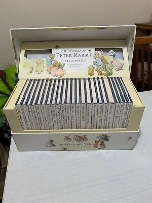 The World Of Peter Rabbit Complete Collection 23 Books Set Beatrix Potter Xmas