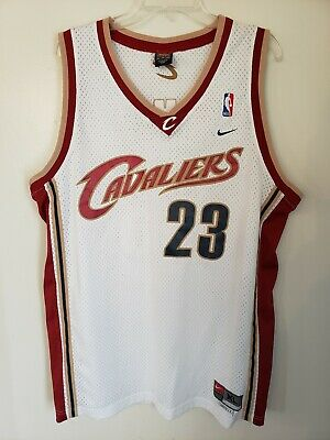 cheap for discount 86561 d3cd6 lebron rookie jersey