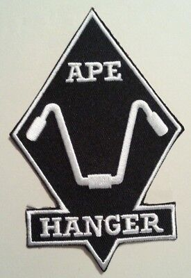 """Ape Hangers Chopper Motorcycle Biker~Embroidered Patch~3 7/8"""" x 2 3/4""""~Iron Sew"""