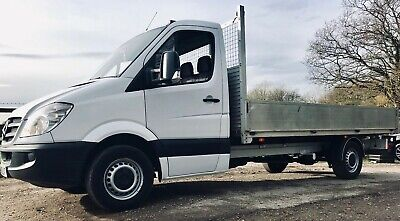 Mercedes Sprinter LWB flat bed drop side pick up *immaculate truck -new gearbox*
