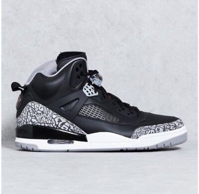 new style eb42d 60a66 Nike Air Jordan Spizike OG Black Cement Grey White Red 3 4 5 iii 315371-