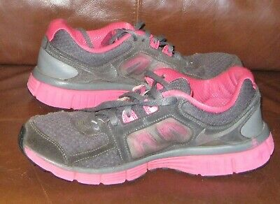 38b78dd79e70a Womens NIKE Dual Fusion Running Shoes Gray & Pink Shoes Size 9 Hiking  Athletic
