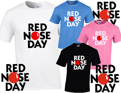RED NOSE DAY 2019 Comic Relief LOGO CHILD'S / TEEN'S T SHIRT LIMITED STOCK