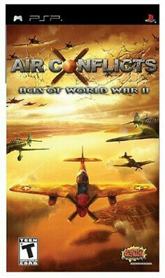 Air Conflicts Aces of World War II (Sony Playstation Portable PSP) ** New **