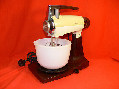 Vintage SUNBEAM MIXMASTER Model MXF Brown BAKELITE Small Bowl c.1960's Works GC