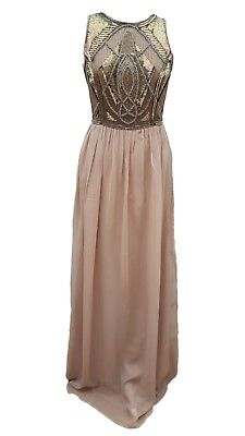 Brand New Phase Eight Collection 8 Fergie Beaded maxi dress Size 10 RRP  £250! 4ffa25334