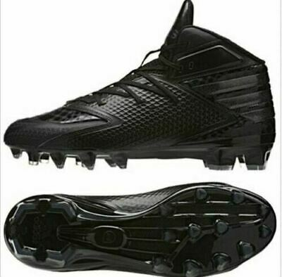 61c1f5d0d93 Adidas Freak X Carbon BLACK Mid Mens Football Cleats Q16058 New Size 14