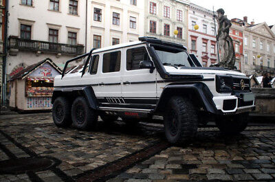 1999 Mercedes-Benz G-Class Leather G500 Mercedes G-Class Brabus Style Rebuild by our Company to  B63S 700 6x6