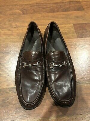 684532e8922 Cole Haan Loafers Horsebit Moc Toe Mens Brown Leather Slip On Shoes Size  11.5 M