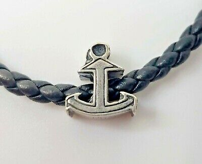 4c319d643ddd1 KAY JEWELERS CHARMED Memories - 925 / Sterling Silver Anchor Charm - Made  Italy
