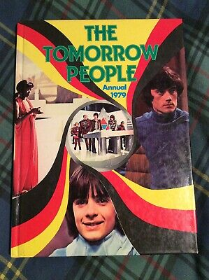 The Tomorrow People Annual 1979 - Very Rare 70s TV Book - VGC