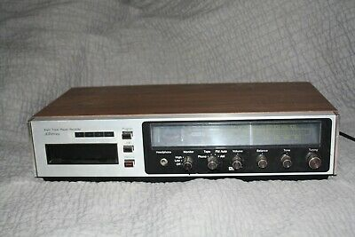 VTG RETRO JCPenney Model 1709 8-Track Cassette Tape RECORDER PLAYER AM/FM Stereo