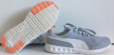 Puma Everride Womens Gray-Orange Running Evertrack Shoes U.S. Size 7 UK  size 4.5 e6dc7780c